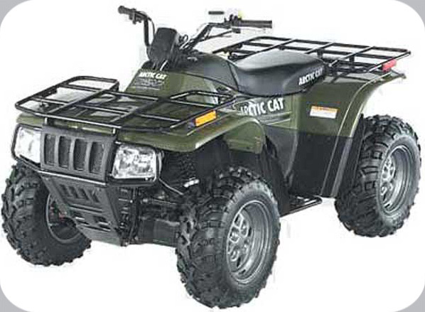 2003 ATV 250 4X4 CAT GREEN (A2003ATE4AUSZ)