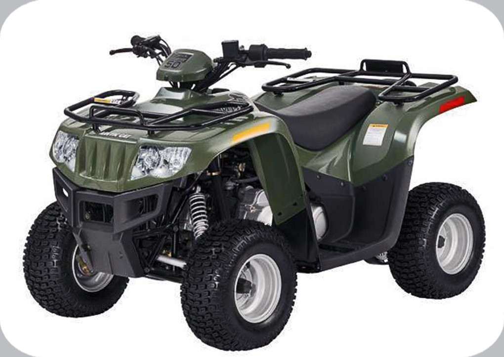 2008 ATV 50 GREEN (A2008KUA2BUSG)