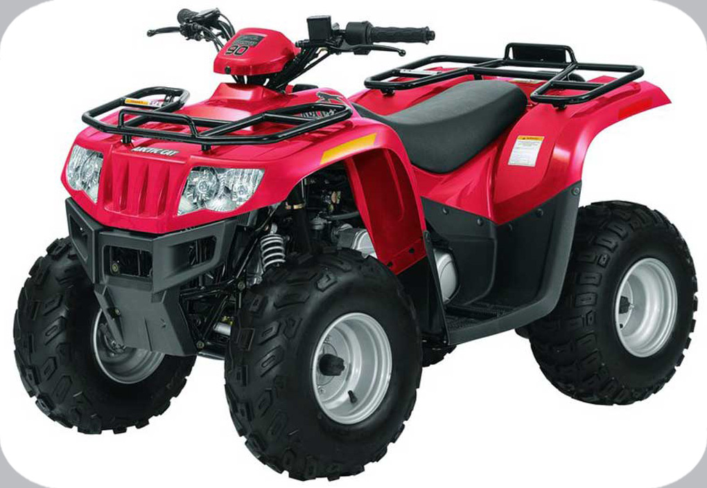 2008 ATV 90 RED (A2008KUB2BUSR)