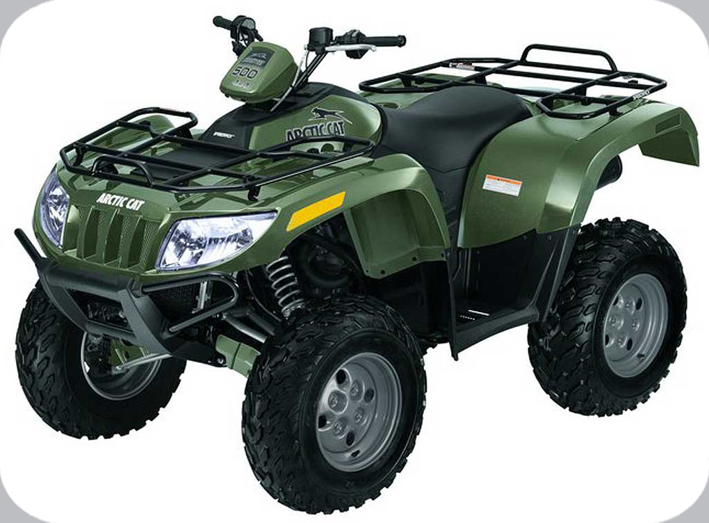 2009 ATV 500 4X4 CAT GREEN (A2009IBM4AUSZ)