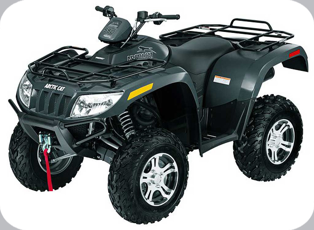2009 Arctic Cat 550 H1 EFI 4x4 LE Automatic (black)