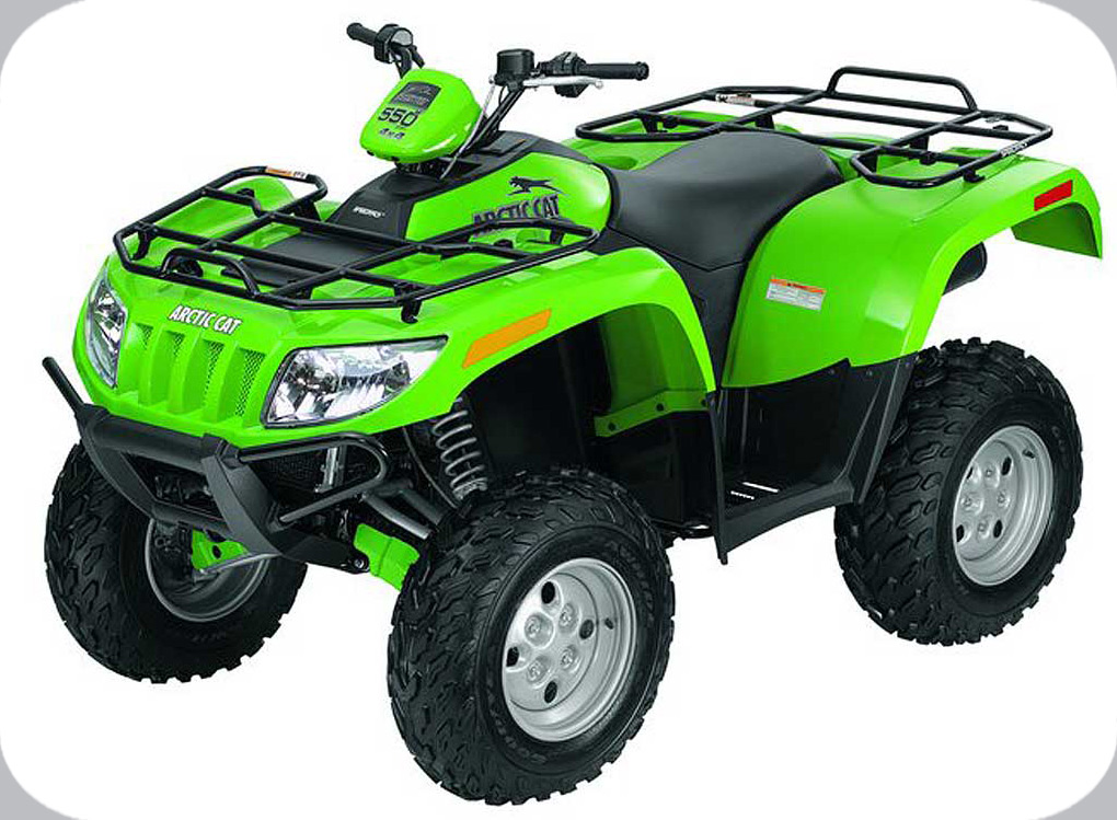 2009 arctic cat 550 h1 efi 4x4 automatic cat green