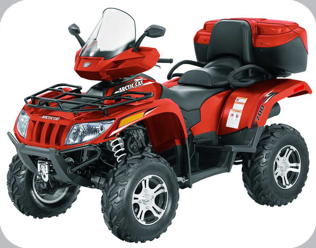 2012 ATV 550 H1 TRV TRV GT SUNSET ORANGE EFT (A2012TGO1PETU) (EUROPEAN ...