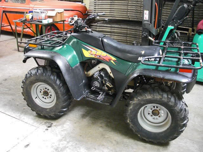 arctic cat touring 660
