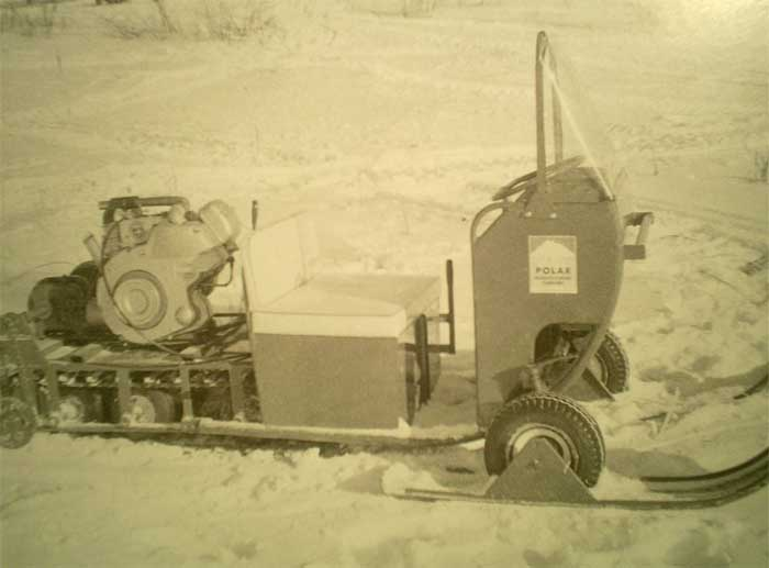 The snowmobile that changed
