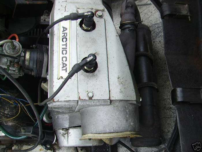 how to find serial number on artic cat 4 wheeler