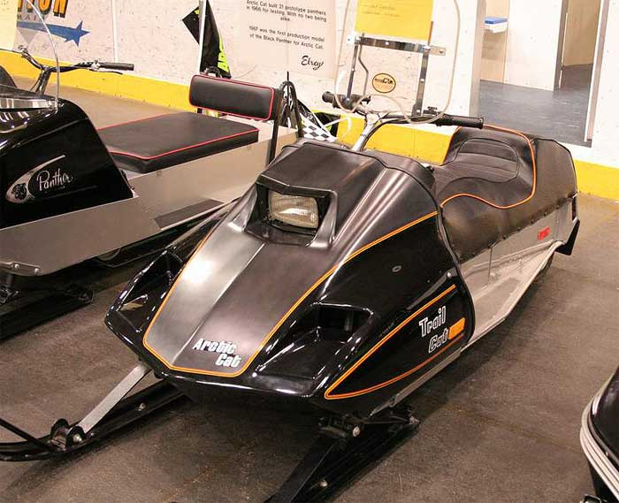 Artic Cat Trail Cat Snowmobile For Sale