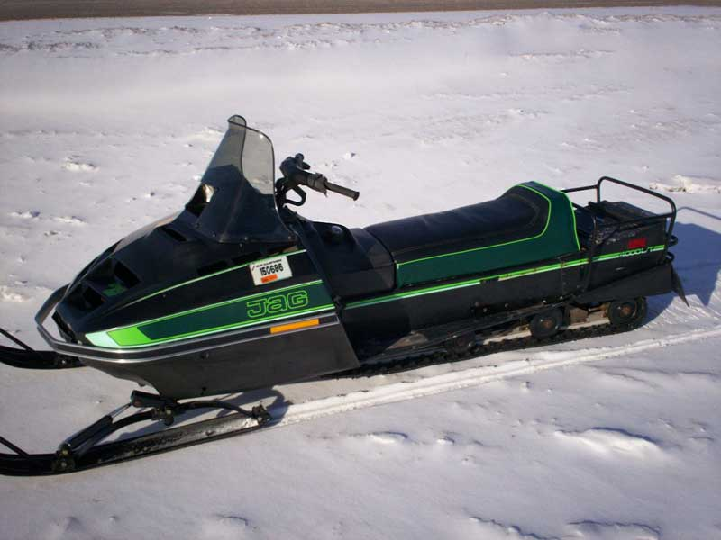 Jlt on 1981 Arctic Cat Sno Pro