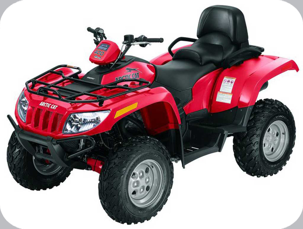2008 ATV 400 TRV 4X4 AUTOMATIC RED (A2008TBH4BUSR) ...