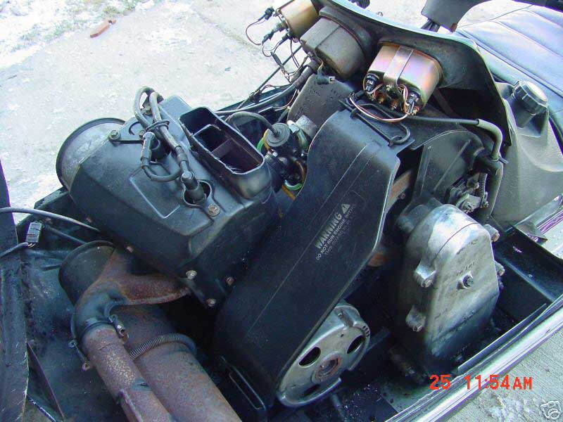 Arctic Cat  Suzuki Engine