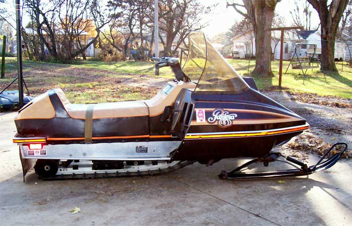 on 1981 Arctic Cat Sno Pro