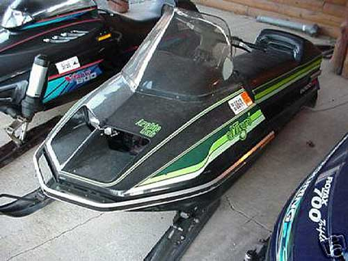 Et S K on 1981 Arctic Cat Sno Pro