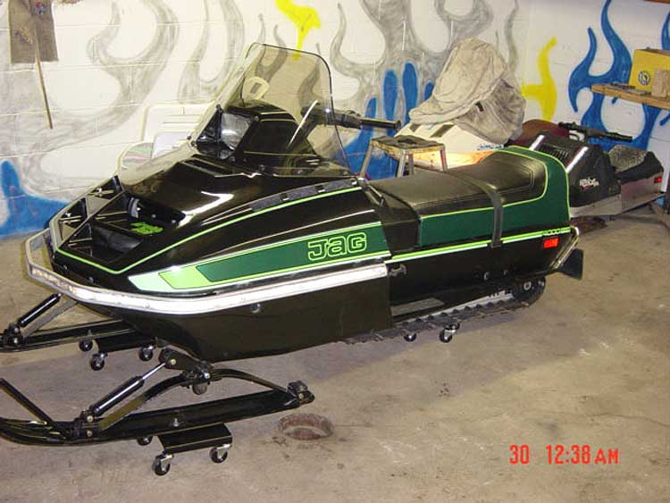 Jag D on 1981 Arctic Cat Sno Pro