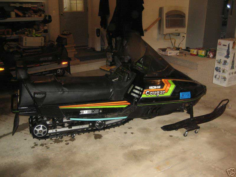 1989 Arctic Cat Cougar Mountain 500cc F C