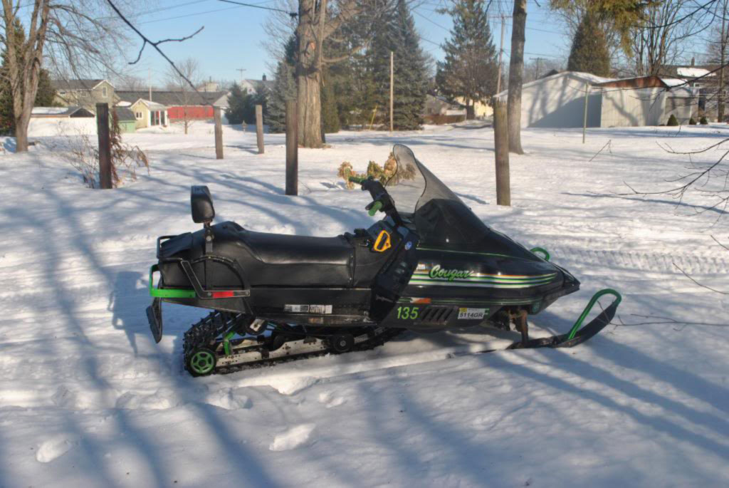 1990 Arctic Cat Cougar Mountain 500cc F C
