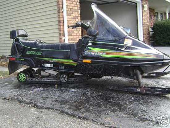 1991 Arctic Cat Cougar 2up 440cc L C