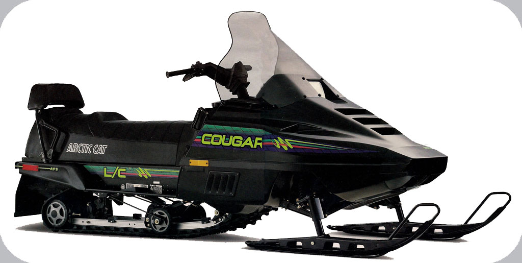 1992 Arctic Cat Cougar 2up 440cc L C