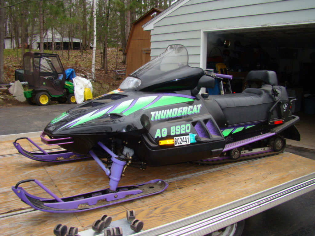 1994 Arctic Cat Thundercat 2up 900cc l/c