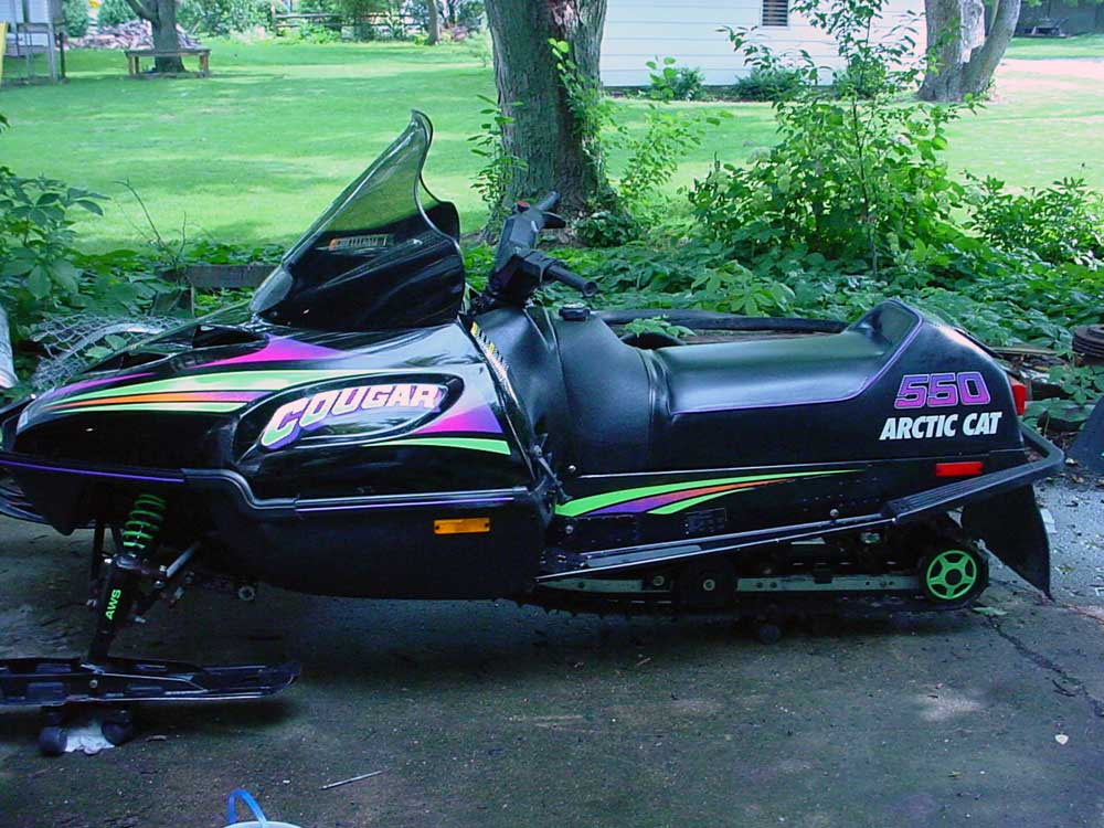1996 Arctic Cat Cougar 2 Up 550cc L C
