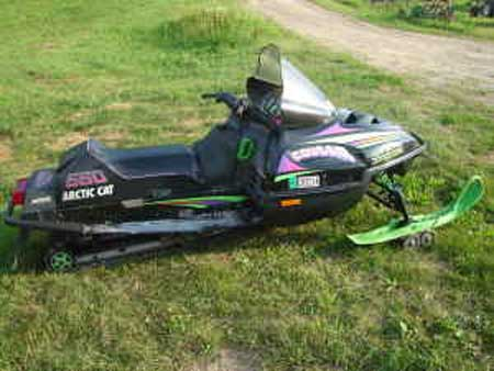 1996 Arctic Cat Cougar Mountain 550cc L C