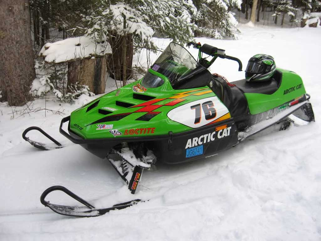 Arctic Cat Zl  Review