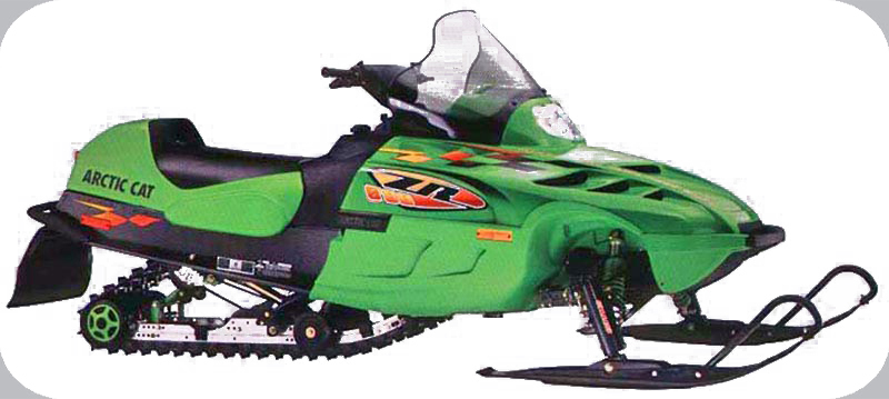 1999 Arctic Cat ZR600 599cc L C